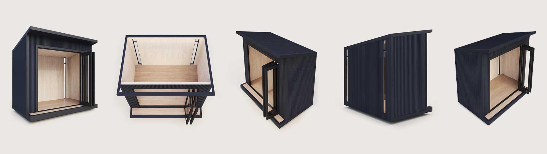 Tinyhome studio pods