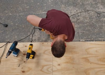 Installing the base floor