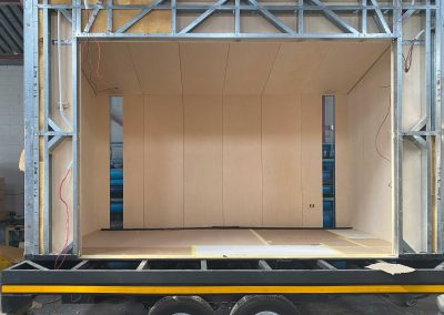 Internal cladding complete on Studio 4