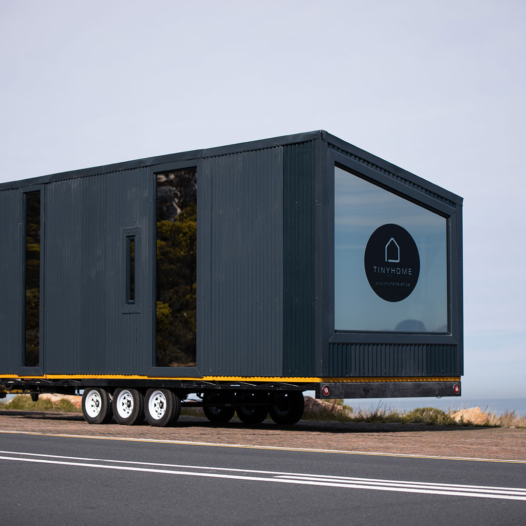 tiny home delivery